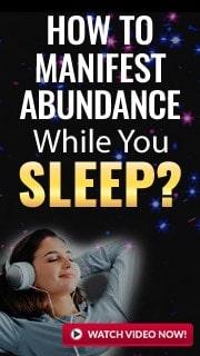 attract abundance while you sleep