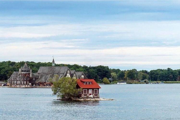 Tiny House on Island